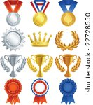 vector illustration   awards... | Shutterstock .eps vector #22728550