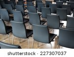 Rows Of New Chairs In The...
