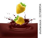 raster version. appetizing... | Shutterstock . vector #227308954