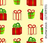 seamless pattern from volume... | Shutterstock .eps vector #227309551