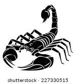 Scorpion Mascot Tattoo