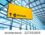 Airport Departure And Arrival...