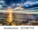 Sunset On The Mediterranean Se...