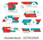 modern infographics options... | Shutterstock .eps vector #227412565