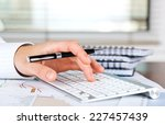 business accounting  | Shutterstock . vector #227457439