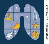 set of veterinary flat icons   Shutterstock .eps vector #227468815