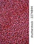 azuki red beans | Shutterstock . vector #2274844