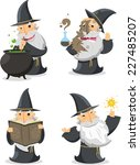 Magic Witch Wizard With Long...