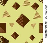 seamless 3d vector pattern with ... | Shutterstock .eps vector #22752202