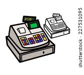 cash register | Shutterstock .eps vector #227531095