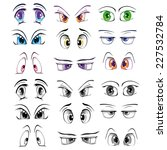 the complete set of the drawn... | Shutterstock .eps vector #227532784