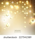 christmas  background with... | Shutterstock .eps vector #227541589
