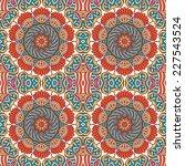 seamless indian pattern | Shutterstock . vector #227543524