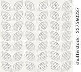 seamless pattern. hand drawn.... | Shutterstock .eps vector #227560237
