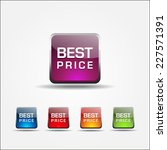 best price colorful vector icon ... | Shutterstock .eps vector #227571391