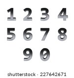 number from 0 to 9 | Shutterstock . vector #227642671