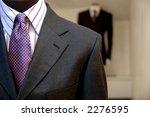 Suits On Shop Mannequins.