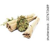 marijuana cannabis  | Shutterstock . vector #227672689