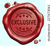 exclusive offer limited edition ... | Shutterstock . vector #227673061