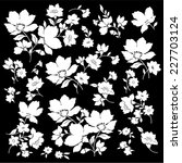 illustration of flower | Shutterstock .eps vector #227703124