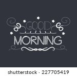 morning vintage frames and... | Shutterstock .eps vector #227705419
