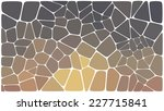 abstract colorful mosaic pattern | Shutterstock .eps vector #227715841