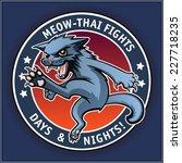 meow thai  | Shutterstock .eps vector #227718235