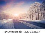 Beautiful Winter Sunrise On Th...