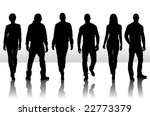 vector illustration of fashion... | Shutterstock .eps vector #22773379
