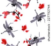 Floral Vector Asian Pattern....