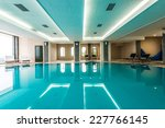luxury swimming pools in a... | Shutterstock . vector #227766145