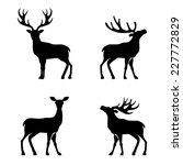 Deer Collection   Vector...