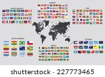 country maps of the world | Shutterstock .eps vector #227773465