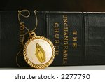 roman catholic book and symbol | Shutterstock . vector #2277790