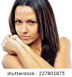 close up portrait of beautiful... | Shutterstock . vector #227801875