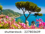 scenic picture postcard view of ... | Shutterstock . vector #227803639