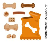 Dog Treats Set Of Biscuit...