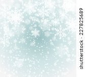 winter background with... | Shutterstock .eps vector #227825689
