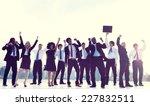 business people new york... | Shutterstock . vector #227832511