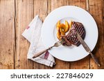grilled south american premium... | Shutterstock . vector #227846029