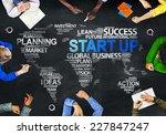 multiethnic people discussing... | Shutterstock . vector #227847247