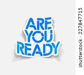 realistic design element  are... | Shutterstock . vector #227847715