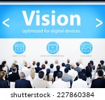 business people vision web... | Shutterstock . vector #227860384