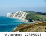 freshwater bay on the isle of... | Shutterstock . vector #227890315