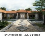 3d Rendering. Home Patio And...