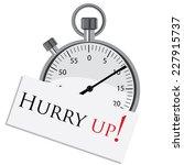 stopwatch  stopwatch vector...   Shutterstock .eps vector #227915737