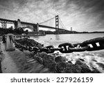golden gate bridge after... | Shutterstock . vector #227926159