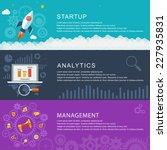 management digital marketing... | Shutterstock .eps vector #227935831