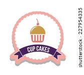 dessert graphic design   vector ... | Shutterstock .eps vector #227954335