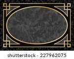 black marble background with... | Shutterstock .eps vector #227962075